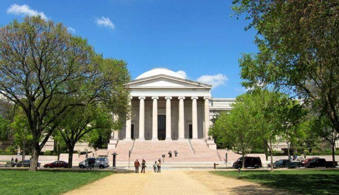 Nhà trưng bày nghệ thuật quốc gia ở Washington DC. 01