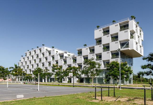 Kiến trúc Việt Nam đạt giải thưởng thế giới 2016- Đại học FPT