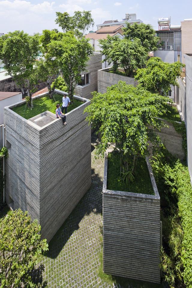 Kiến trúc Việt Nam đạt giải thưởng thế giới 2016- Nhà cây.01