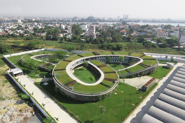 Kiến trúc Việt Nam đạt giải thưởng thế giới 2016- Nhà trẻ xanh