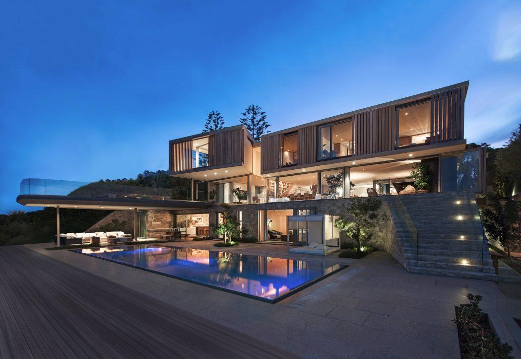 Kiến trúc nhà đẹp như tranh nhìn ngắm ra biển - Ảnh 01