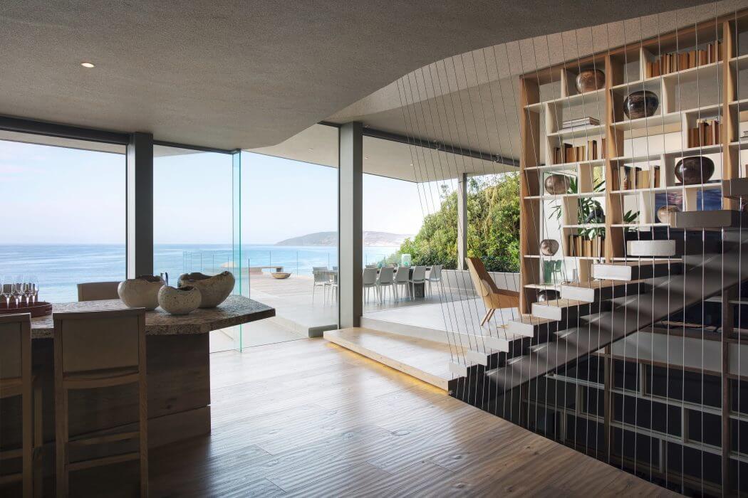 Kiến trúc nhà đẹp như tranh nhìn ngắm ra biển - Ảnh 05