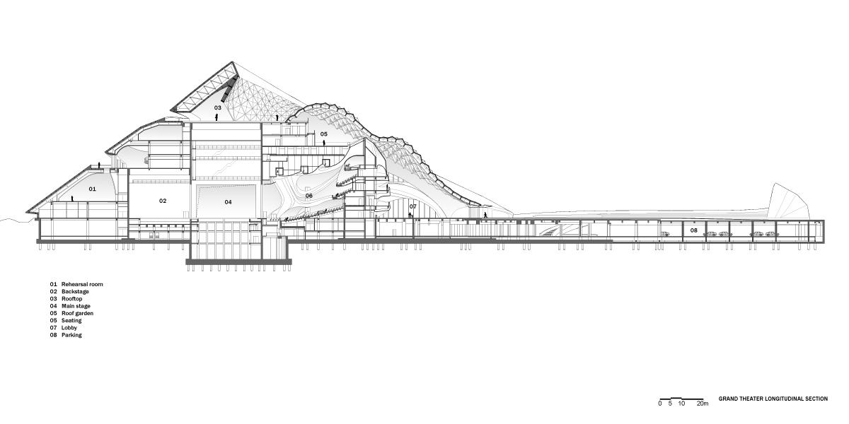 Kiến trúc nhà hát lớn đẹp ngất ngây- Mặt bằng thiết kế.02