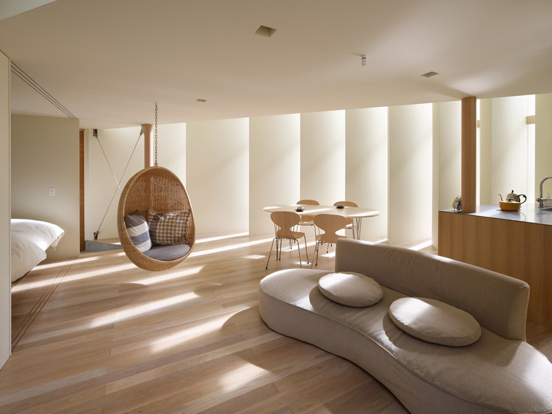 Kiến trúc nhà ống với thiết kế hình nan quạt - Ảnh 02