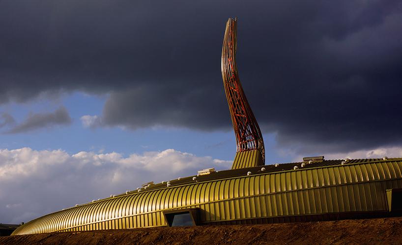 Kiến trúc trung tâm nghệ thuật đương đại Luigi Pecci. 01