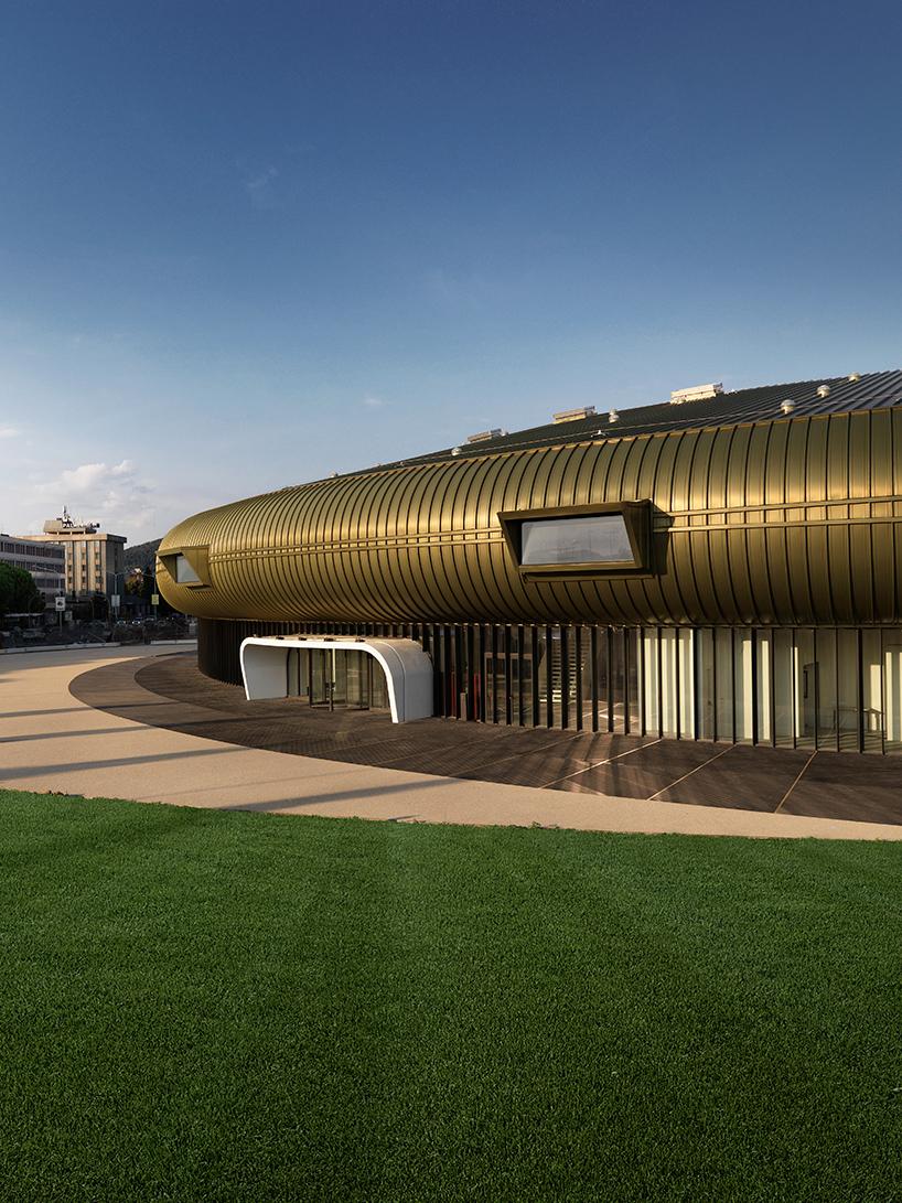 Kiến trúc trung tâm nghệ thuật đương đại Luigi Pecci. 03