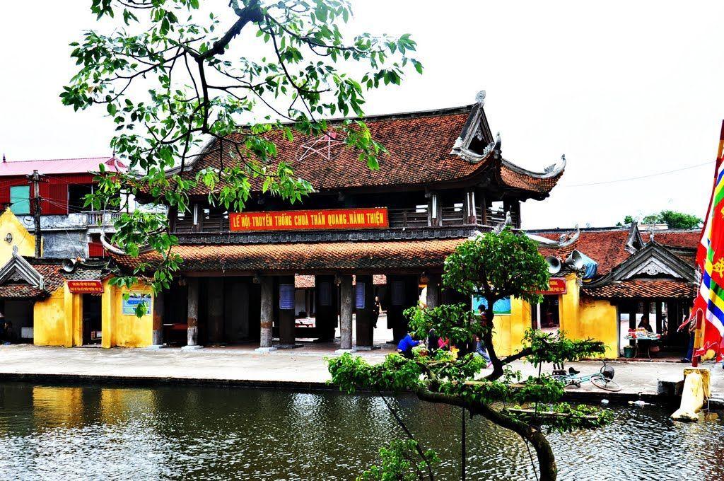Kiến trúc Việt nam chùa Keo Hành Thiện - Ảnh 02