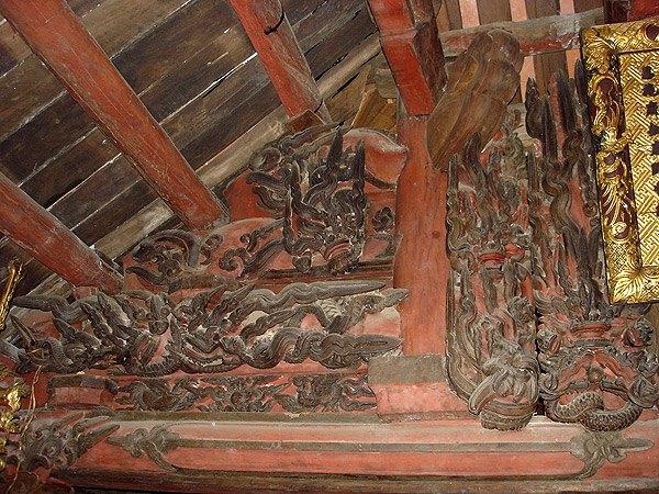 Kiến trúc Việt nam chùa Keo Hành Thiện - Ảnh 06