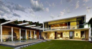 Kiến trúc nhà đẹp hình chữ S độc đáo. Ảnh 01