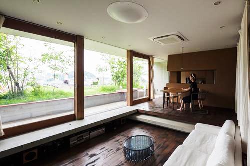 Nhà đẹp 5 tầng với không gian xanh ôm trọn - Ảnh 03