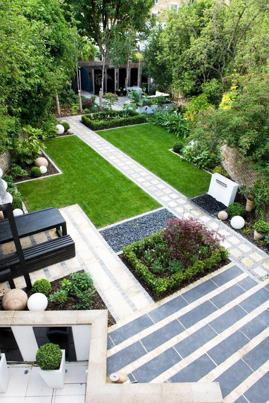 Những ý tưởng lối đi bằng đá khu sân vườn.3