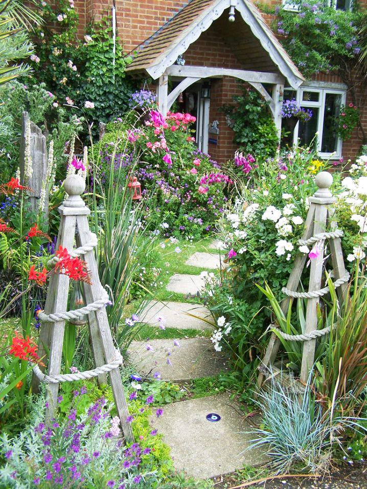 Những ý tưởng lối đi bằng đá khu sân vườn.4