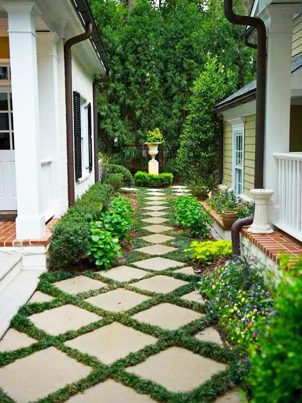 Những ý tưởng lối đi bằng đá khu sân vườn.5