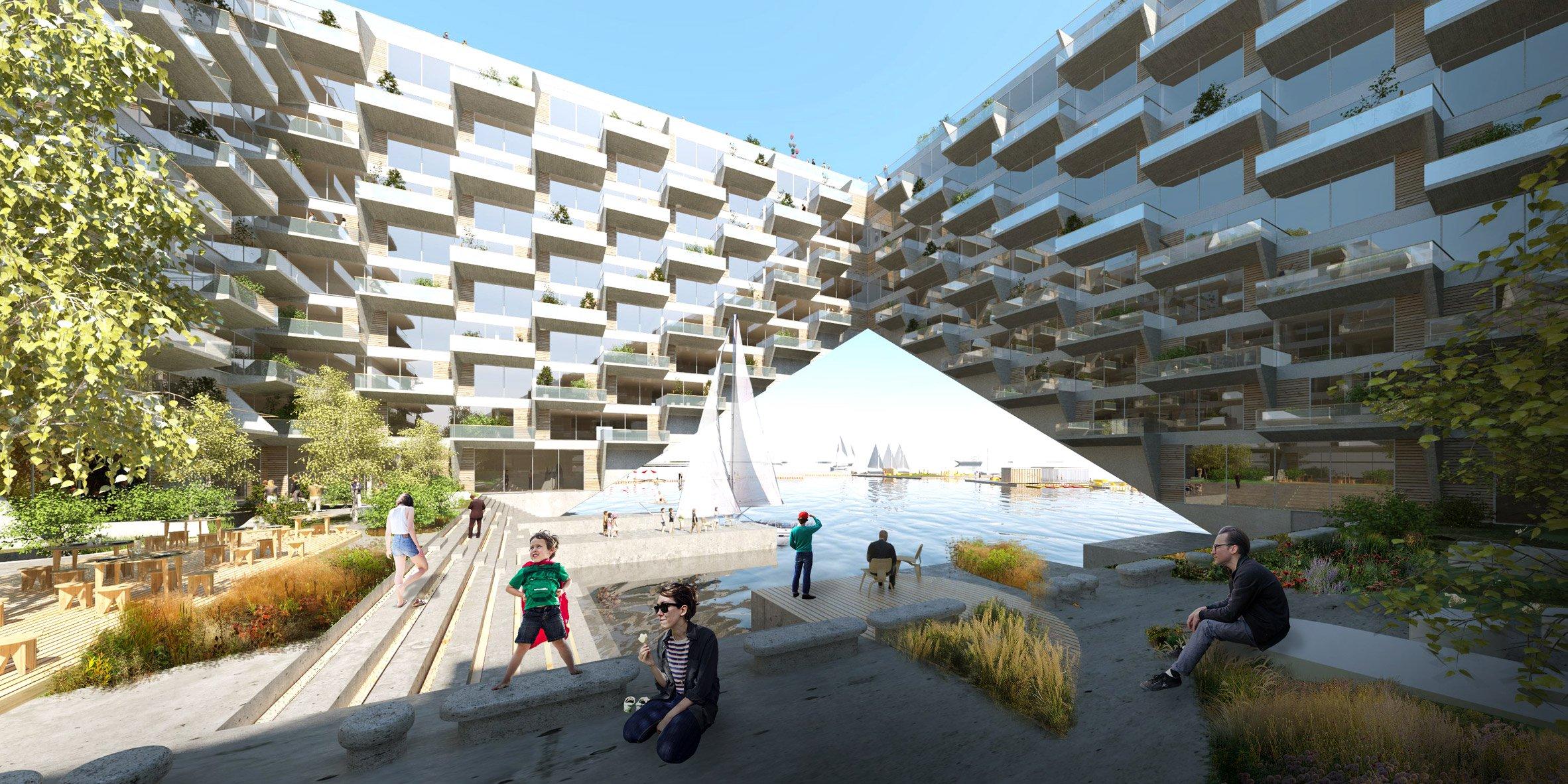 Sluishuis kiến trúc độc đáo tòa nhà thiết kế nổi.03