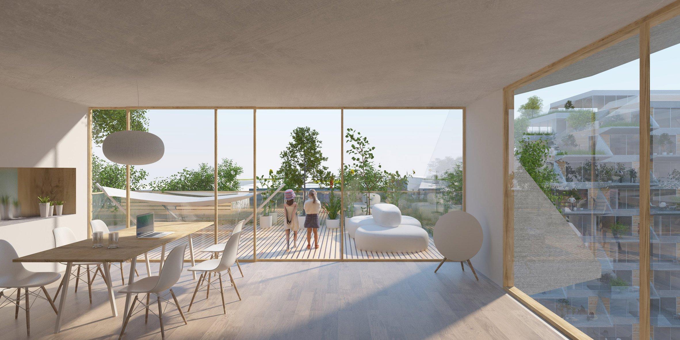 Sluishuis kiến trúc độc đáo tòa nhà thiết kế nổi.04