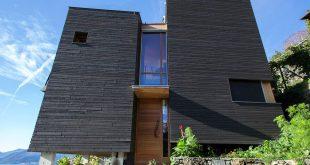 Kiến trúc nhà đẹp có góc nhìn đẹp ra hồ - Ảnh 01
