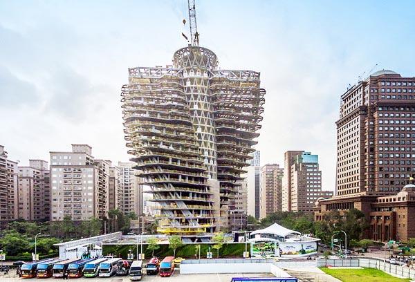 Kiến trúc tòa tháp cấu trúc xoắn ốc độc đáo.3