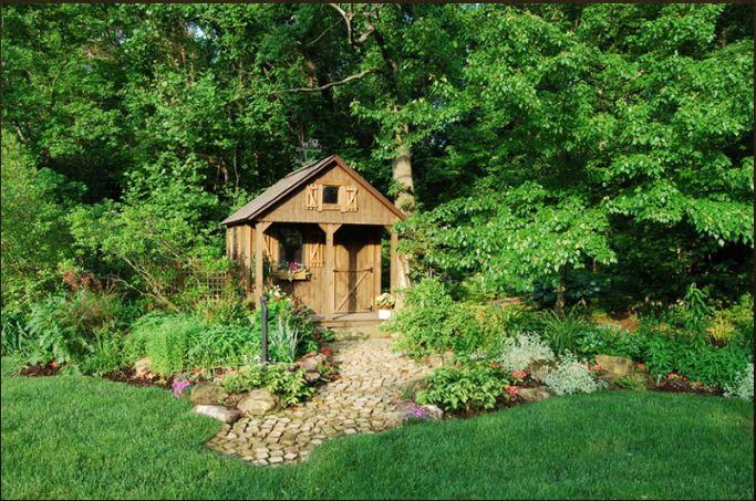 Ý tưởng thiết kế kiến trúc nhà vườn đẹp như trong chuyện cổ tích.2