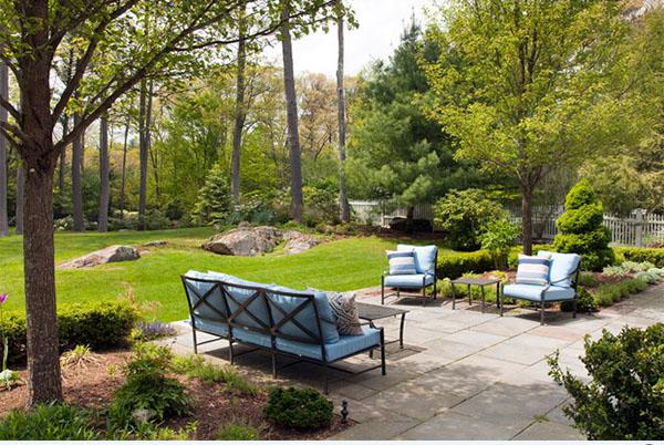 Các mẫu tiểu cảnh khuôn viên sân vườn sau nhà.4