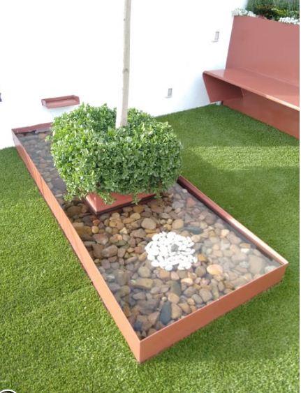 Cải tạo sân vườn đẹp cho biệt thự chi với 3 triệu đồng. 4