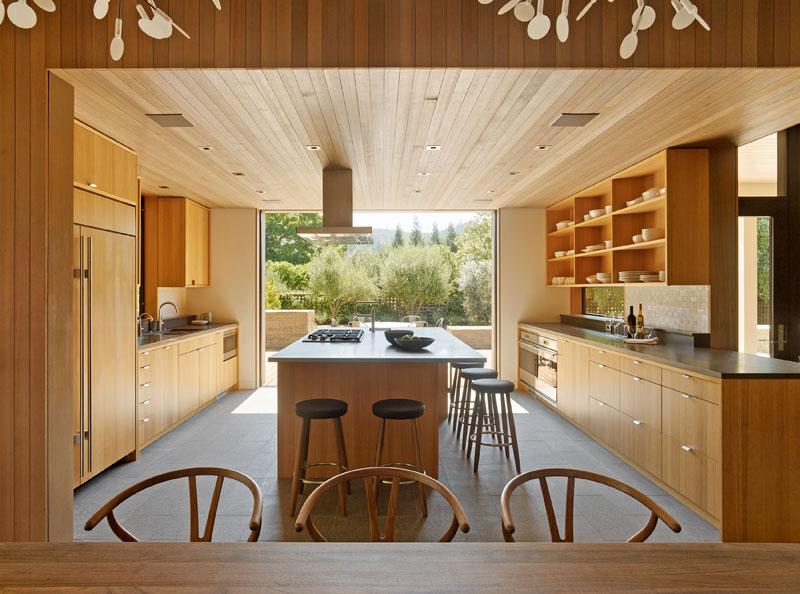 Kiến trúc nhà vườn đẹp 2 tầng hiện đại. 05