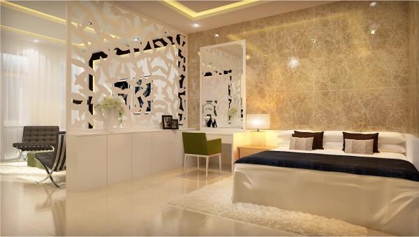 Lựa chọn gạch ốp tường giúp phòng khách biệt thự thêm sang trọng. 5