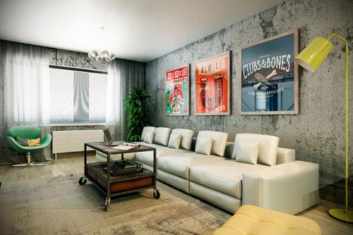 Mẹo hay trang trí tường phòng khách cho ngôi nhà của bạn- Ảnh 5