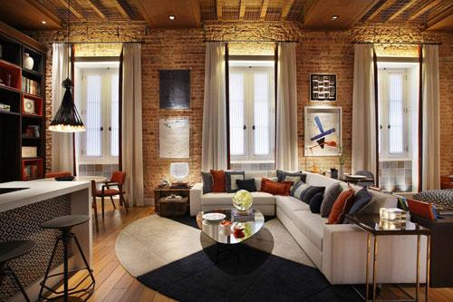 Mẹo hay trang trí tường phòng khách cho ngôi nhà của bạn- Ảnh 6
