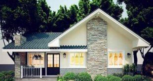 Những mẫu nhà cấp 4 kiểu biệt thự cực đẹp chỉ với 200 triệu đồng