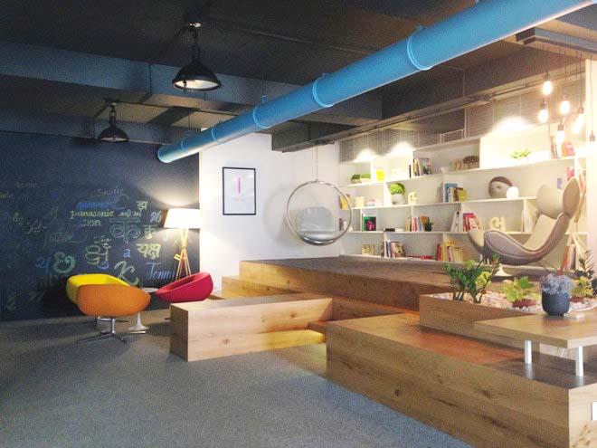 Văn phòng làm việc hiện đại có không gian xanh mướt.03