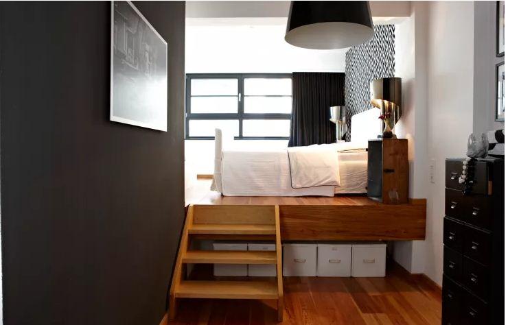 Cách ngăn chia phòng đẹp cho ngôi nhà nhỏ. 4