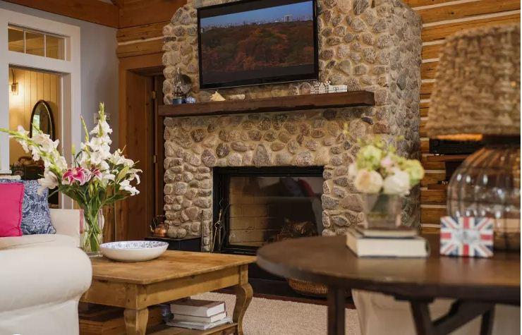 Ngôi nhà gỗ đẹp như mơ ấm cúng. 3