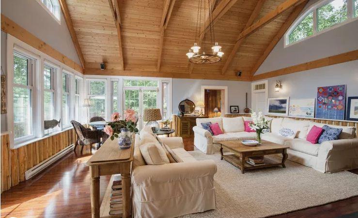 Ngôi nhà gỗ đẹp như mơ ấm cúng. 4