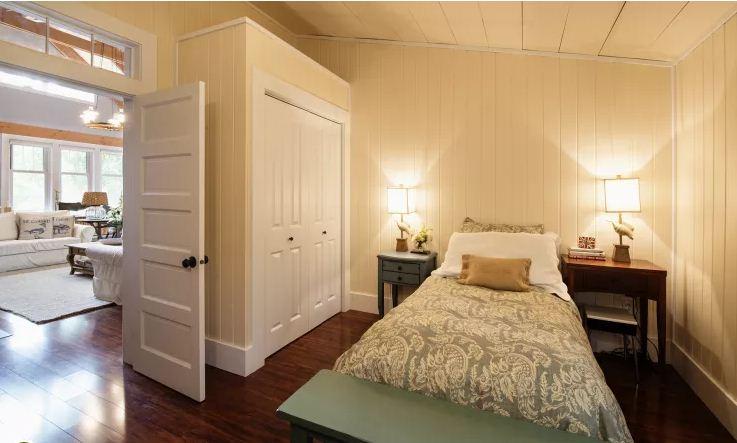 Ngôi nhà gỗ đẹp như mơ ấm cúng. 5