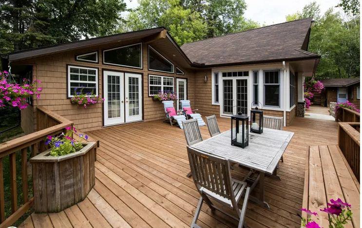Ngôi nhà gỗ đẹp như mơ ấm cúng. 6