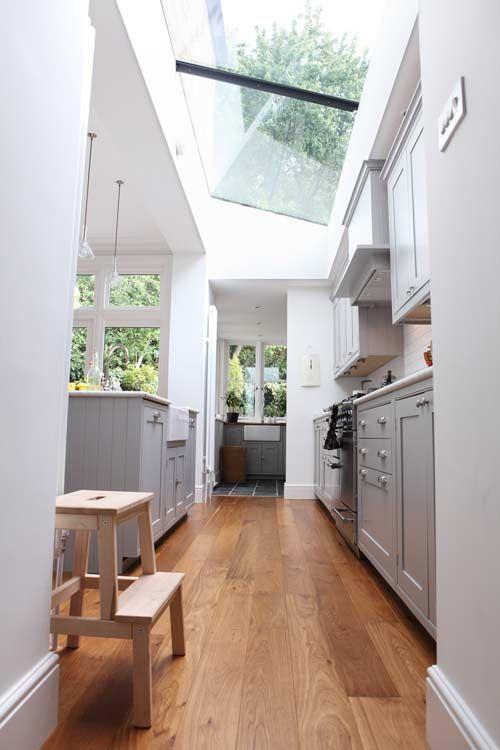 Thiết kế giếng trời cho căn bếp nhà ống. 2