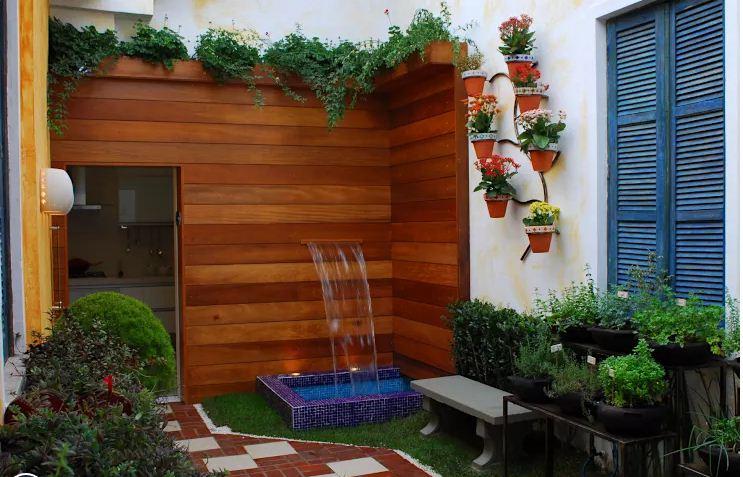 Thiết kế sân vườn xanh mướt giảm nhiệt mùa hè. 5