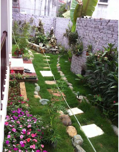 Thiết kế sân vườn xanh mướt giảm nhiệt mùa hè. 6