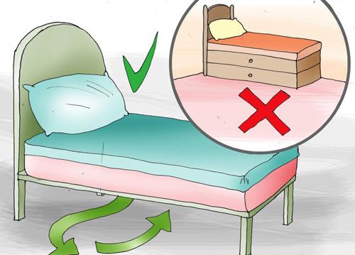 Điều cần tránh trong phong thủy phòng ngủ nhà ống. 6