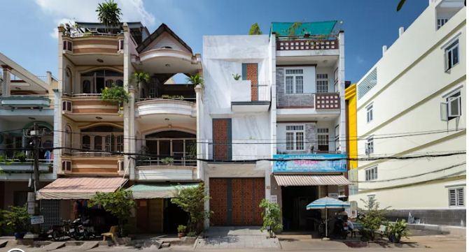 Nhà phố đẹp 3 tầng 4x15m thiết kế độc đáo