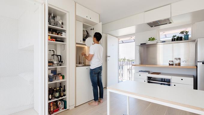 Thiết kế nhà thông minh cho vợ chồng trẻ 24m2. 3