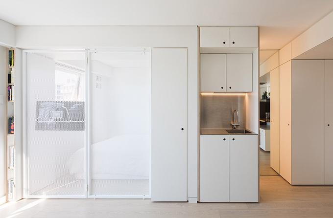 Thiết kế nhà thông minh cho vợ chồng trẻ 24m2. 4