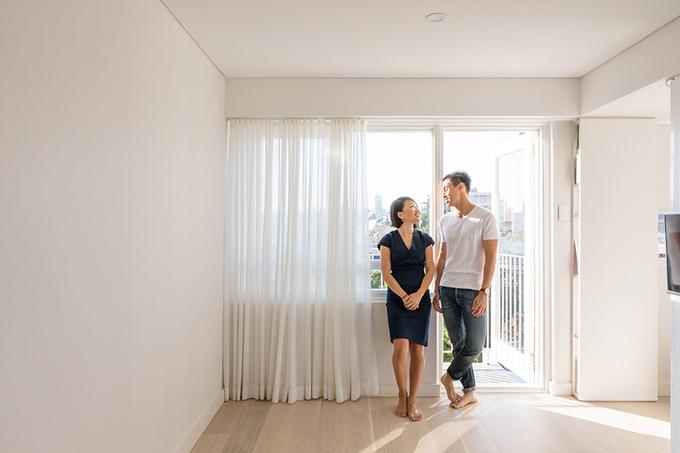 Thiết kế nhà thông minh cho vợ chồng trẻ 24m2