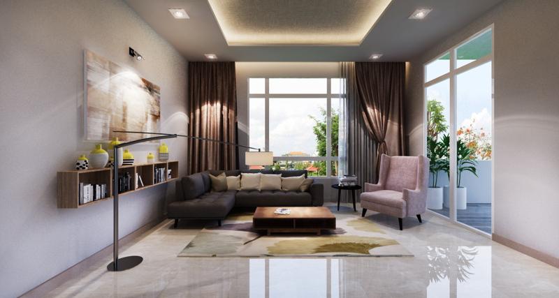Biệt thự 2 tầng hiện đại phong cách trẻ trung. 7