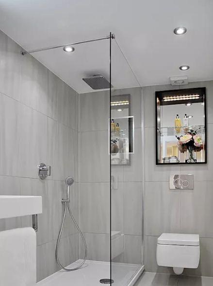 Cách giữ vệ sinh phòng tắm nhà ống hiệu quả. 3