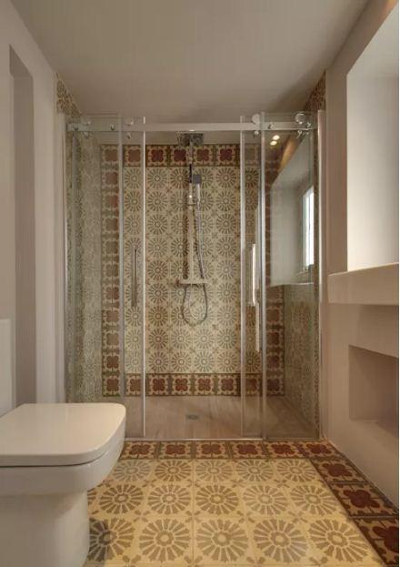 Cách giữ vệ sinh phòng tắm nhà ống hiệu quả. 4