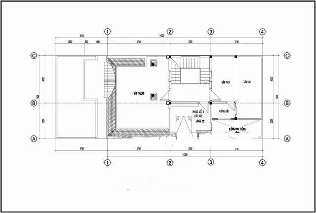 Kiến trúc biệt thự 3 tầng kiểu pháp đẹp 7x16m. 4