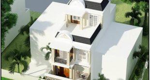 Kiến trúc biệt thự 3 tầng kiểu pháp đẹp 7x16m
