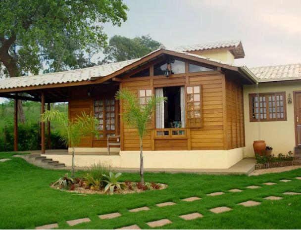 Mẫu thiết kế nhà đẹp bằng gỗ ấn tượng. 4