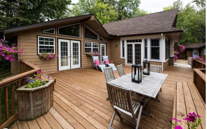 Mẫu thiết kế nhà đẹp bằng gỗ ấn tượng. 6